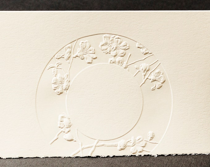 8 Floral Wreath Cards. Gift for mum.Floral cards Flowers card Pack of 8 cards.  Blank inside.