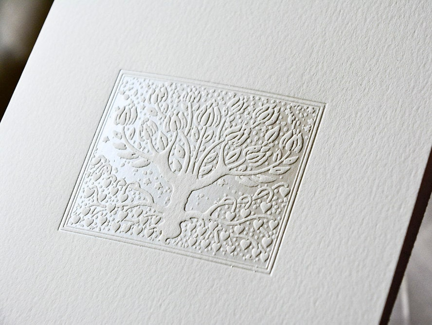 pearl wedding invitations tree wedding card foil stamped reply post