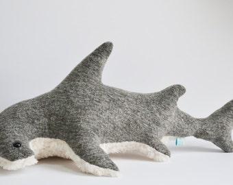 Shark Plush Etsy