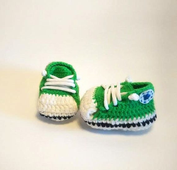 57bdbabb17d Etsy Bebe Ganchillo Zapatos Patucos Verde A Converse Hechos 0xqwU8w ...