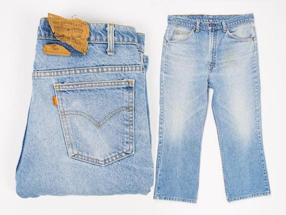 Size 33 Levi's 517 Jeans - Vintage Levi's 517 Boot