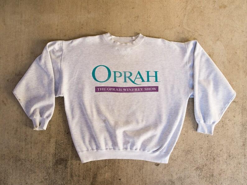 f234cd6f Distressed Oprah Sweatshirt M Vintage Oprah Winfrey | Etsy