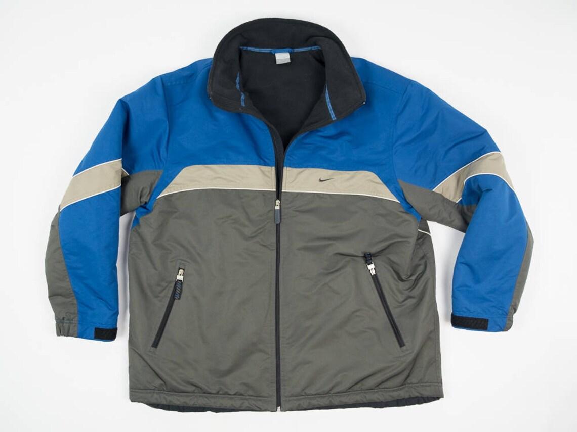 57740d1b815f 90s Nike Coat XXL Vintage Late 90s Nike Coat Nike Winter