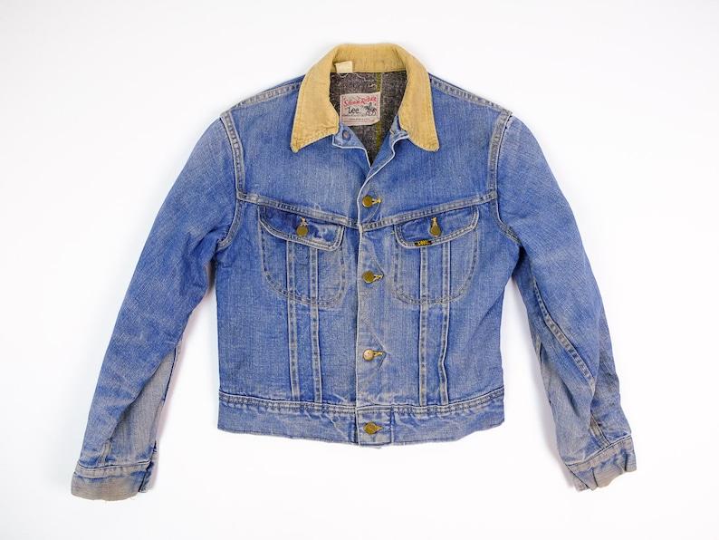0368912807a Jean Jacket XS Vintage Lee Storm Rider Jean Jacket Extra