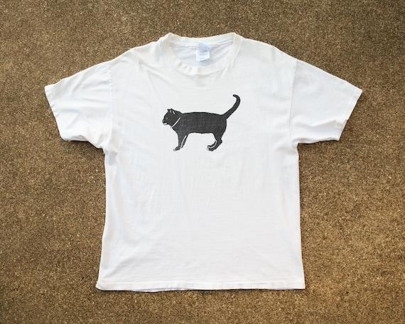 Black Cat Shirt XL - Vintage The Black Cat Provinc