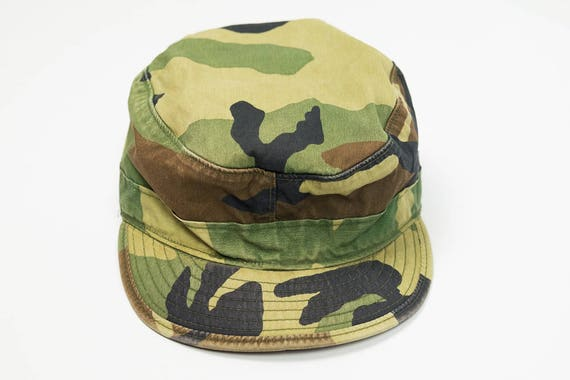 Army Hat S M Vintage Camo Army Hat S Army Hat M Size 7  085cb427e67
