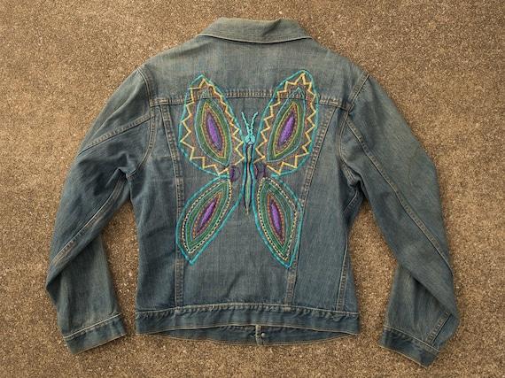 Jean Jacket S - Vintage Jean Jacket Men's Small -