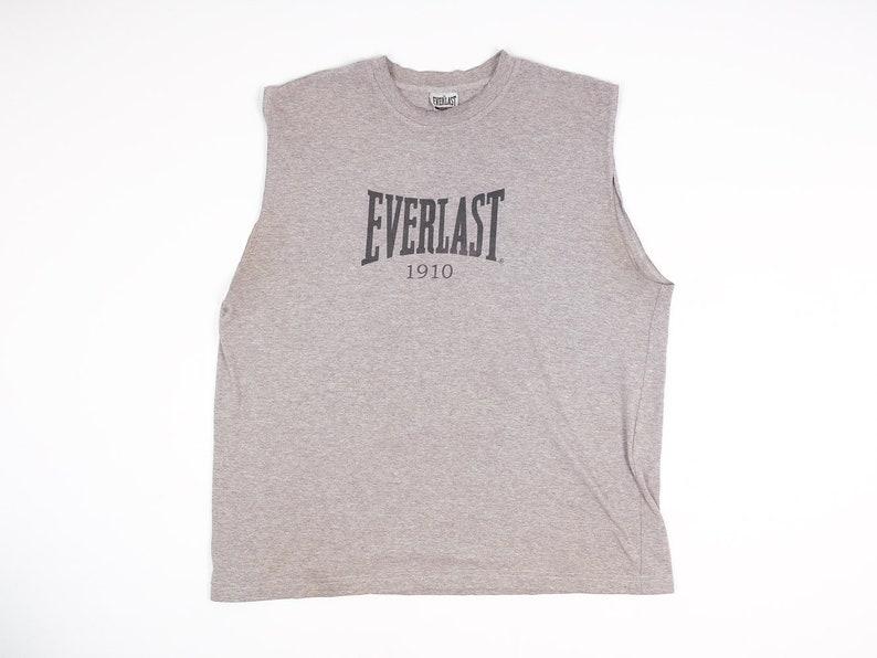 233c1747df5df7 Jahrgang Everlast Shirt L - Everlast Muskel-Shirt - Ärmelloses Shirt von  Everlast - Jahrgang Gym Shirt - Bodybuilding - Krafttraining - Boxen