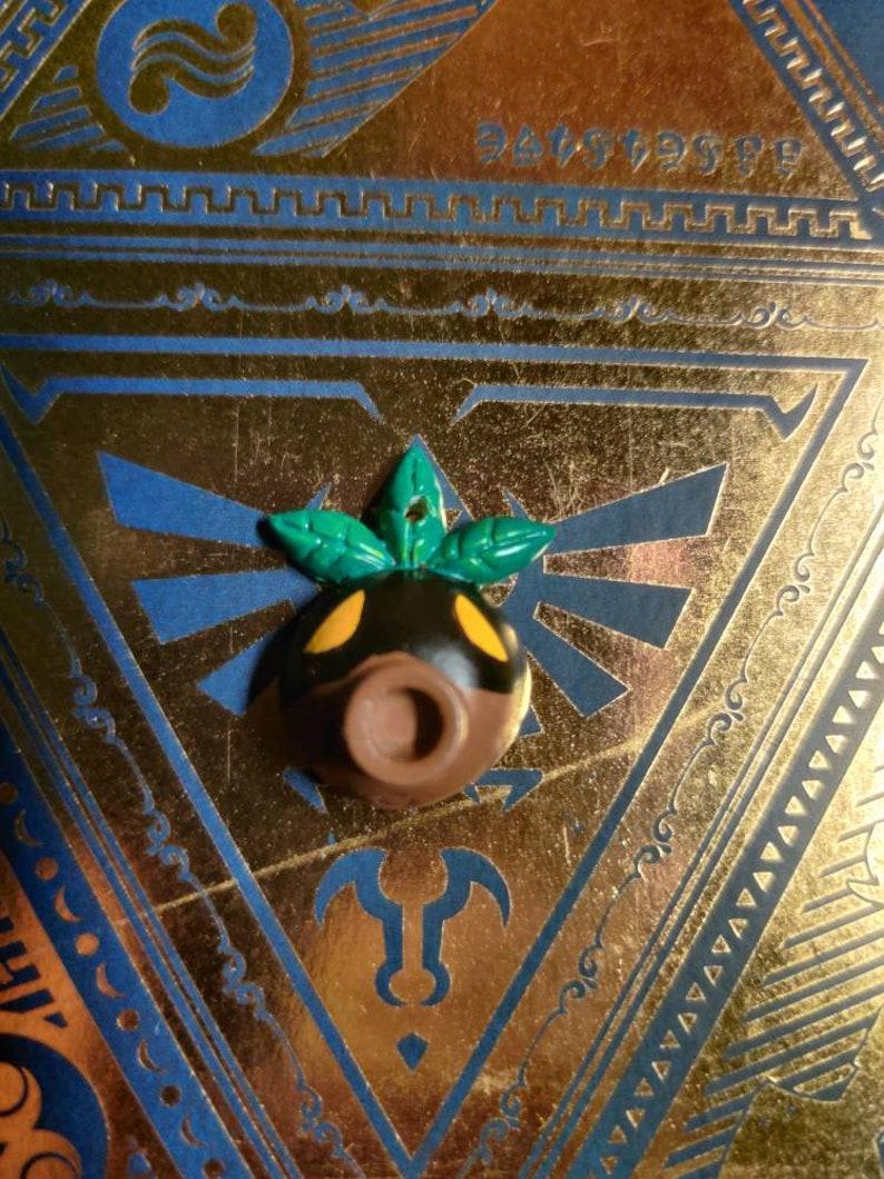 Deku Link Mask Majora Mask ciondolo