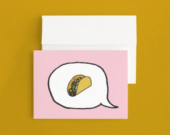 Emoji Cards! - Taco