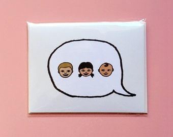Emoji Cards! - Young Family