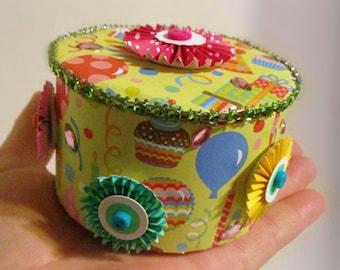 Birthday Gift Box | Keepsake Box | Jewelry Box | Jewelry Holder | Trinket Box | Teen Girl Gifts | Childrens Jewelry | Gifts for Her | Friend