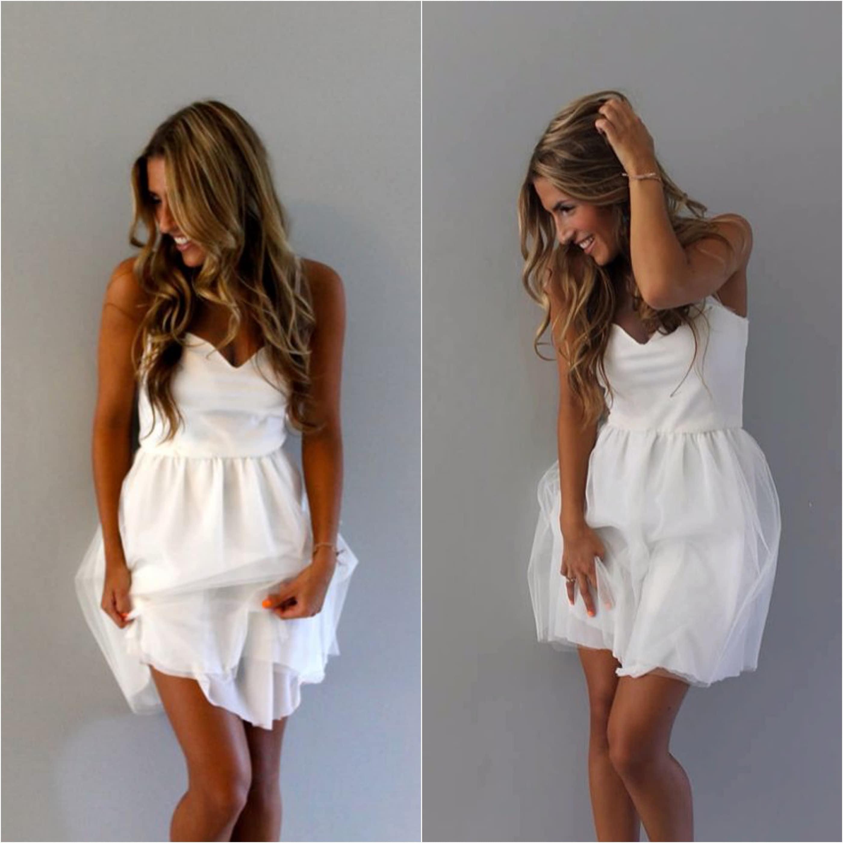 Boho Wedding Dress Simple Wedding Dress Short Wedding