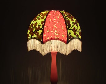 """Bohemian lamp in Japanese paper """"Béa"""""""