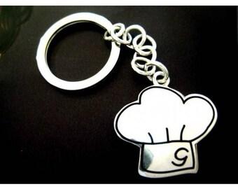 Silver Keychain capello chef