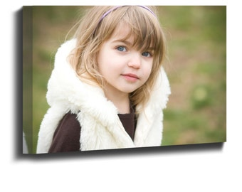 Personalised canvas print your own photo, image, picture printed on box framed canvas ready to hang