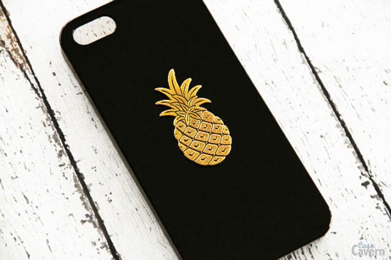 sale retailer 14432 d33d4 Pineapple iPhone 7 Case Black iPhone XR Case iPhone 7 Plus Black Hipster  Gift Black iPhone 7 Plus Pineapple iPhone XR Plus Black