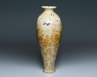 Herrmann Stolken Porcelain crystalline glaze unique vase