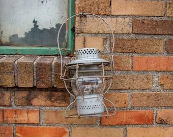 Handlan Railroad Lantern Vintage Kerosene Lamp