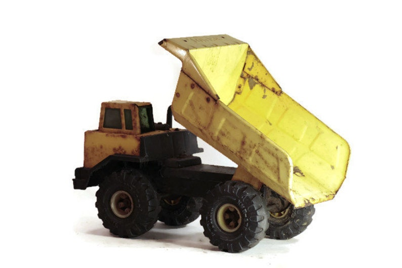 Mighty Tonka Dump Truck Gardening Decor or Planter