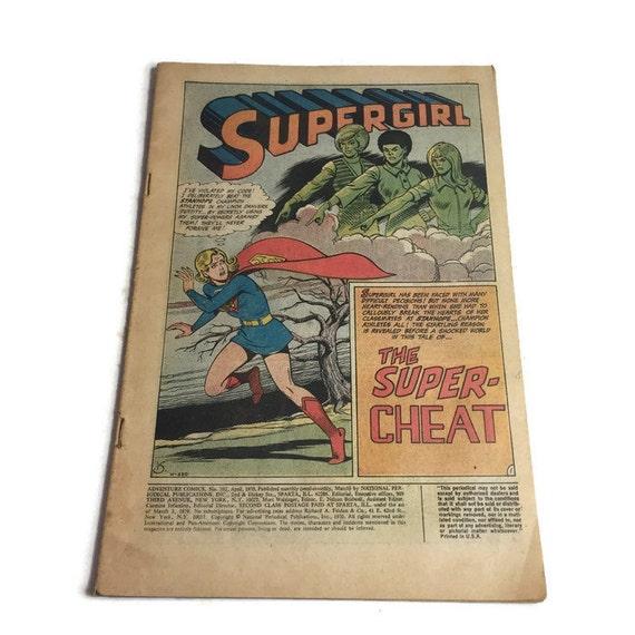 DC Adventure Comics No. 392 Supergirl The Super  4a934ce1fefa
