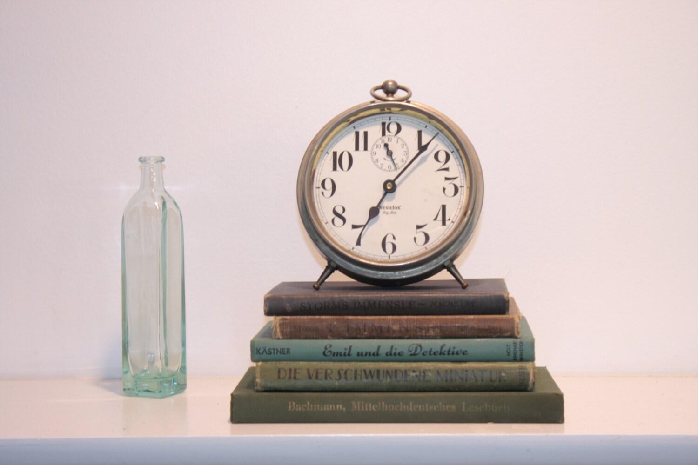 WestClox Big Ben Alarm Clock Vintage Bedroom Decor