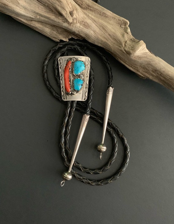 Native America Indian Accessories,  Vintage Bolo T