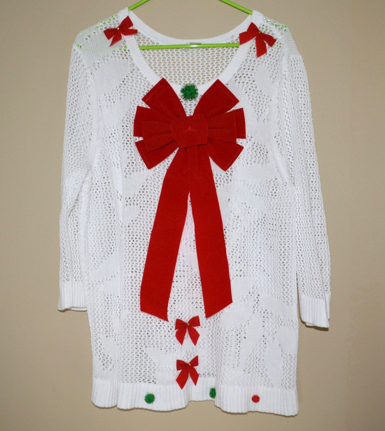 261e2a6c736 2x Ugly Christmas Sweater dress one of a kind sexy ugly