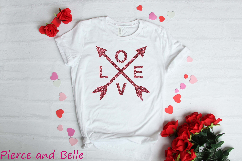 Love Arrow Ladies Or Mens T Shirt Love Shirt Valentine Etsy