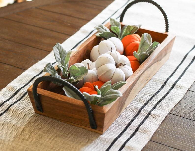 Mini Pumpkins home decor pumpkins fall decorations table image 0
