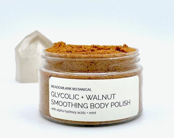 Glycolic Body Scrub with Mint + AHAs | Organic & Vegan