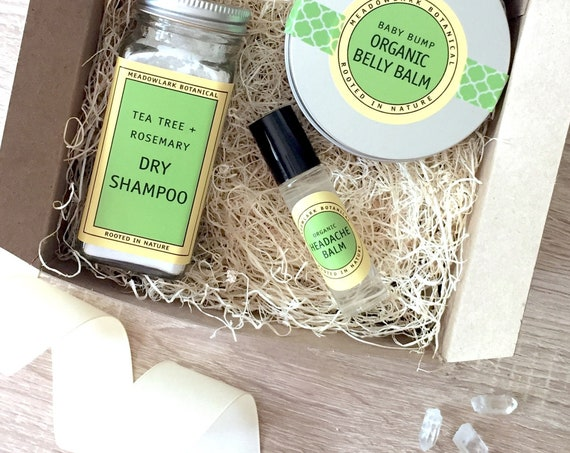 New Mom Organic Gift Set
