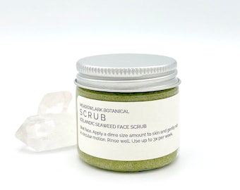 Natural Face Scrub with Nordic Seaweed & Active Botanicals