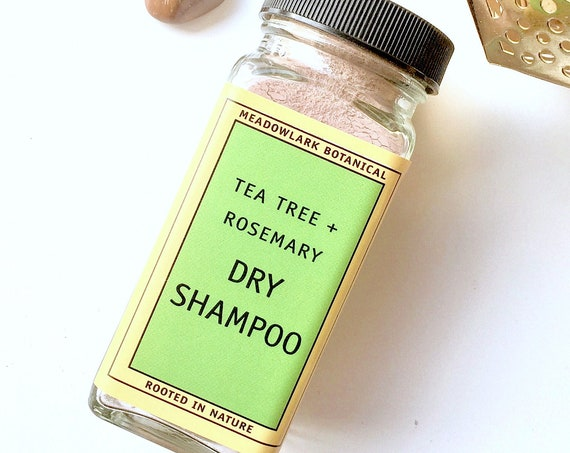 Organic Dry Shampoo for Brown and Dark Hair -  Eco Friendly, Organic Shampoo