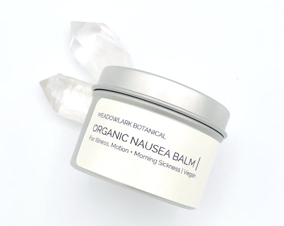 Pregnancy Safe Nausea Balm for Morning Sickness, Upset Stomach
