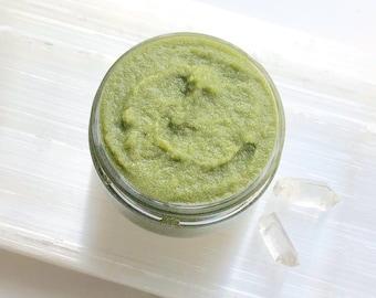 Icelandic Seaweed Face Scrub   Anti Aging, Organic, Sensitive Skin Safe
