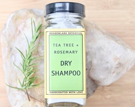 Vegan & Organic Dry Shampoo - Boosts Volume, Absorbs Oil