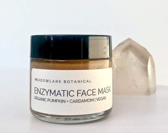 Pumpkin Enzyme Face Mask with Glycolic & Turmeric | Self Care