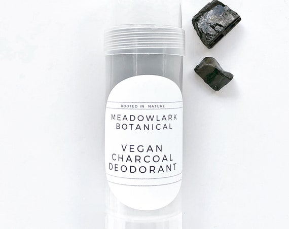 Natural Deodorant for Women with Activated Charcoal - Long Lasting, Aluminum & Baking Soda Free