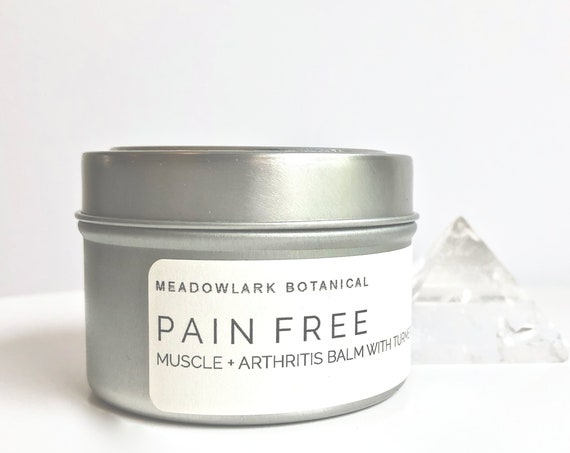 Natural Pain Relief Cream with Arnica, MSM & Turmeric