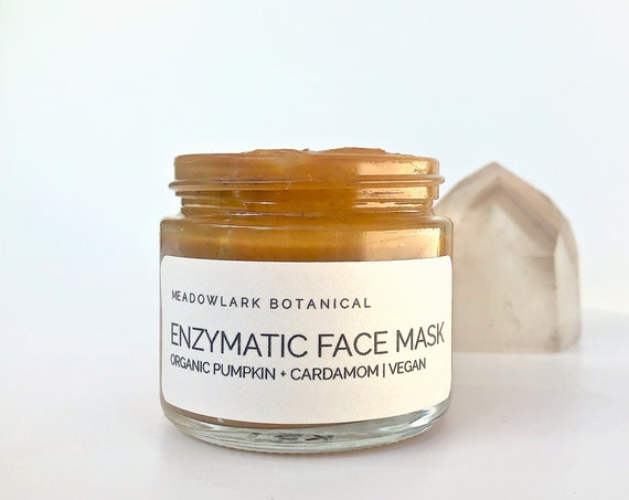 Organic Facial Mask with Pumpkin Enzymes + Turmeric
