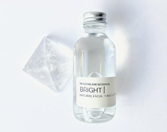 BRIGHT | Glycolic Acid Face Toner with Botanicals | Zero Waste Skincare