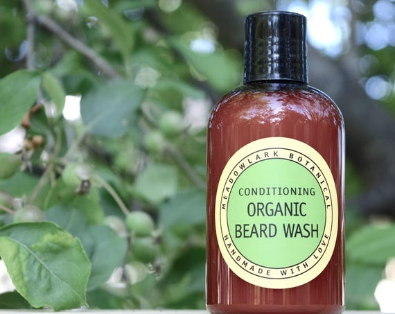 Organic Conditioning Beard Wash for Men