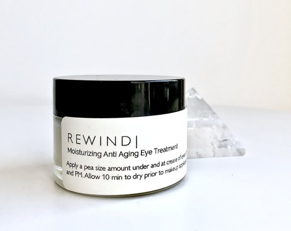Organic Anti Aging Eye Cream | Natural Treatment for Fine Lines | Zero Waste Skincare