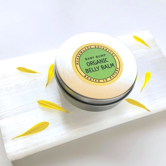 Belly Balm - Organic Skin Cream & Stretch Mark Treatment | Pregnancy Safe