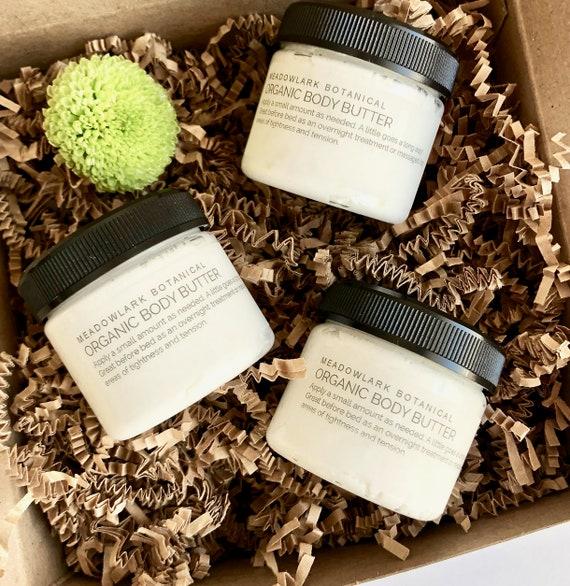 Christmas Gift for Mom |  Organic Body Butter Gift Box