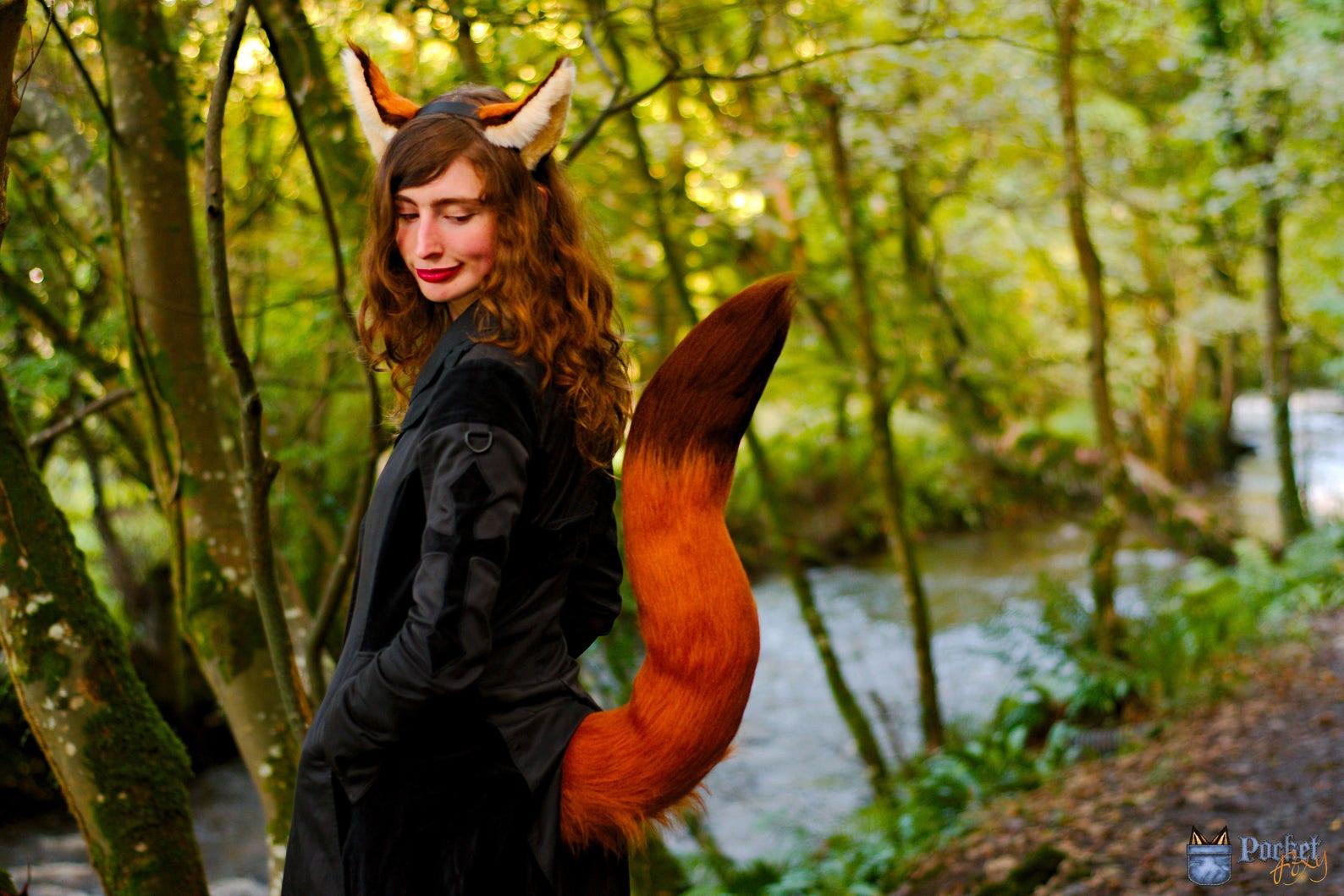 Fox Ear & Tail Set Fox Ears Costume Set