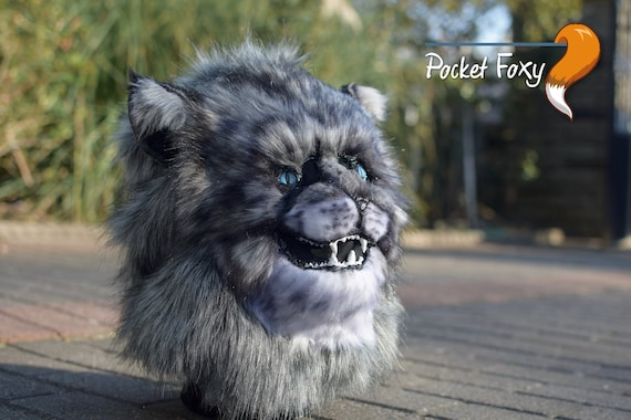 ** On SALE extras ! Fursuit Head Character Wolf Canine Hybrid  Furry Base