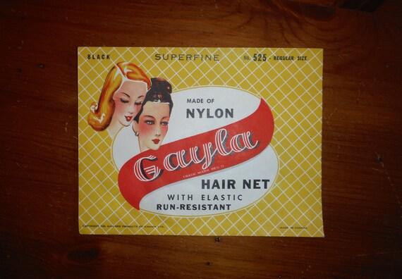 Kitschy 1950's Hair Net - '50's Vintage Hair Net E