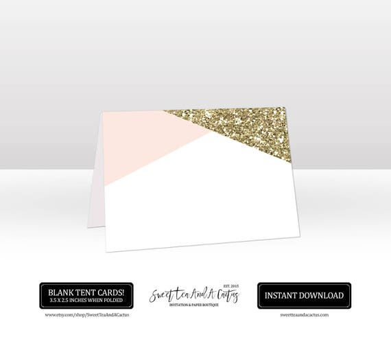 image regarding Printable Tent Card titled Desk Tent Card Printable Blush Crimson and Gold Classy Stylish Boho Bling Quick Obtain Electronic Document Buffet Standing Card Marriage Shower Bridal